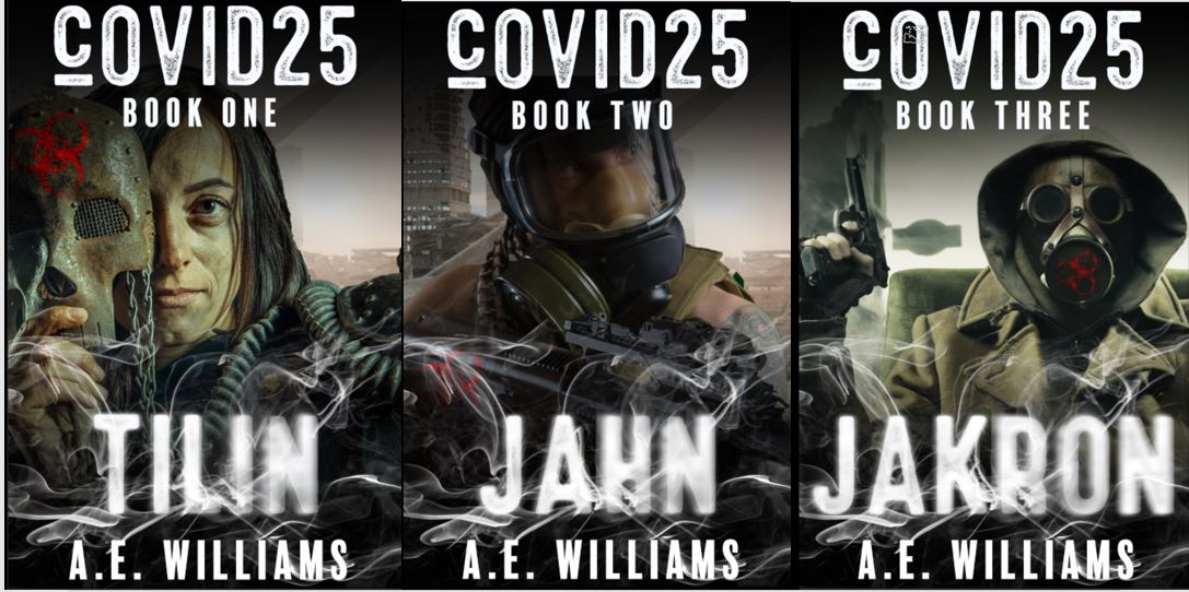 'cOVID25 Trilogy,' COMING SOON to Amazon!