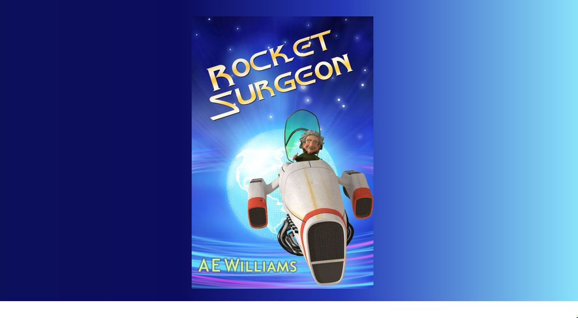 'Rocket Surgeon,' Now On Amazon!
